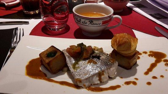 L'Islandais Restaurant: la présentation bien travaillée