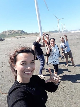 Ilocos Norte Province, Philippines: Windmills of the North with friends