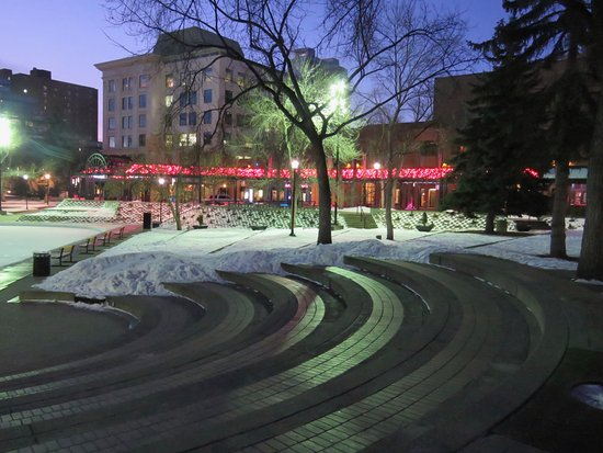 Olympic Plaza: Close to lots of interesting things to see and do