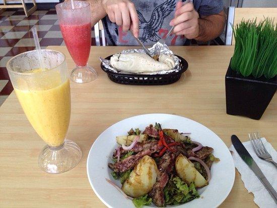 Grecia, Costa Rica: La mejor ensalada que he comido!