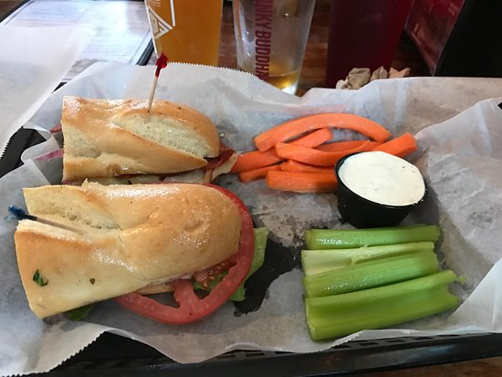 Wells Brothers Bar and Grill: The Soprano$9.99pepperoni, genoa salami, ham, provolone cheese, romaine lettuce, tomato, peppero