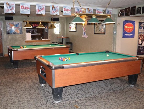 Cle Elum, WA: Our Pool Room inside The Loose Wolf Saloon