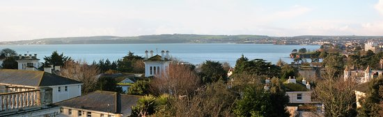 Templestowe Hotel: View from our room (107) across the bay to Paignton and Brixham.