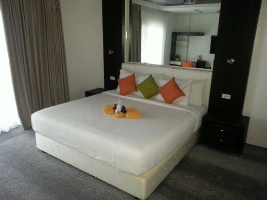 Lalaguna Villas: Comfortable Bed