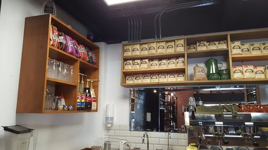 El Injerto Cafe: Variety of coffees.