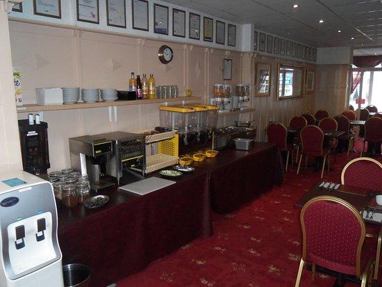 Novello B&B: Breakfast Room