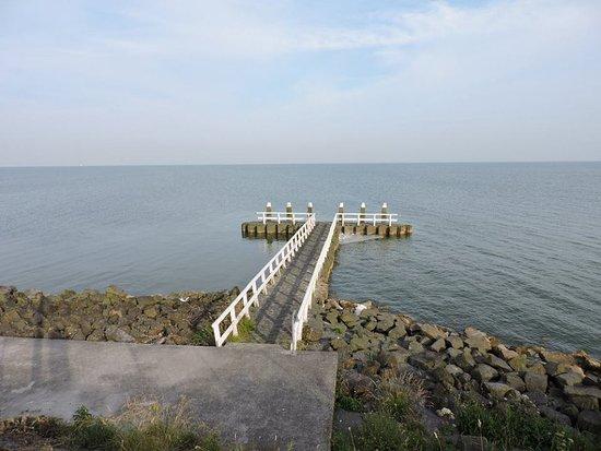Den Oever, Países Baixos: Afsluitdijk, Norte de Holanda.