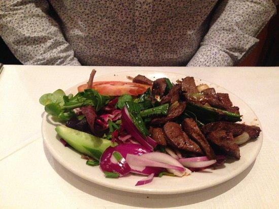 Selale Restaurant: Lamb starter