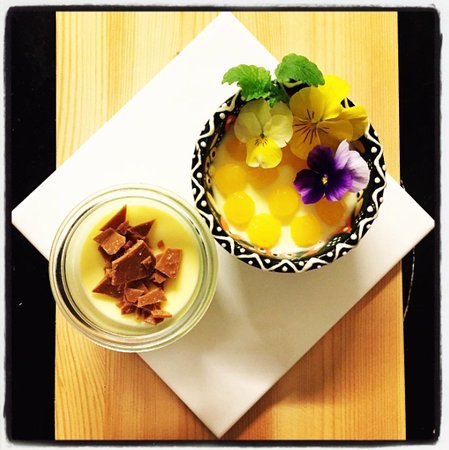 Nysted, Danimarca: Panna Cotta Blonde