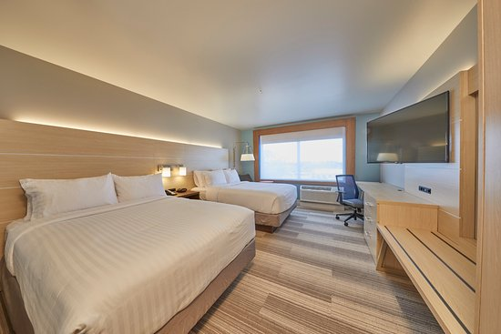 Holiday Inn Express & Suites Hermiston Downtown: Two queen standard room