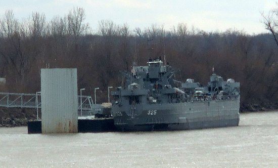 USS LST Ship Memorial: View from the Visitors' Center