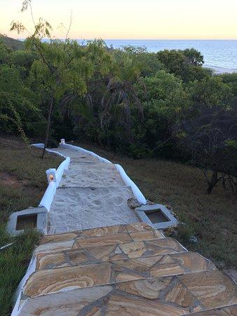 Kutani, Tanzania: steps at hillside suite