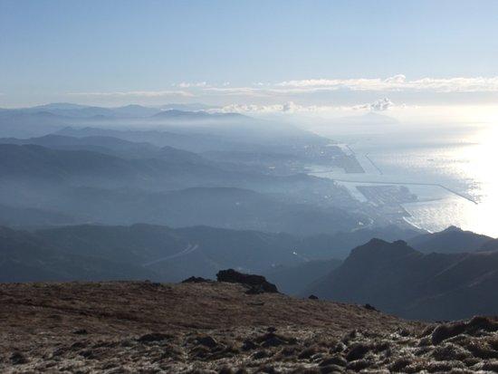 Monte Reixa: Panorama verso Genova