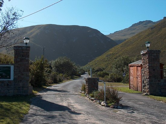 Hermanus, África do Sul: Gates to Fernkloof Nature Reserve