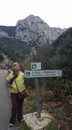 Pyrenees-Orientales, فرنسا: Sign post