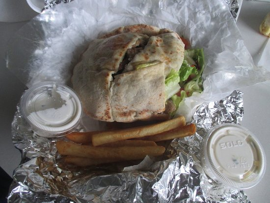 Columbia Heights, MN: Take Away perfect good portion