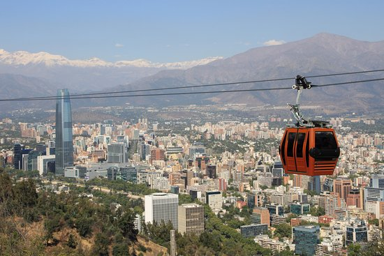 Teleferico Santiago