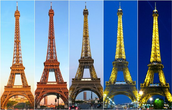 Eiffel Tower: The Different Moods Of Eiffel