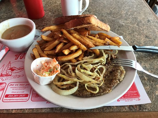 Fort Frances, Canadá: I love liver and onions!!