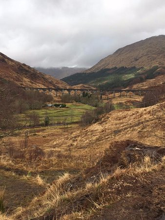 Glenfinnan, UK: View of Viaduct