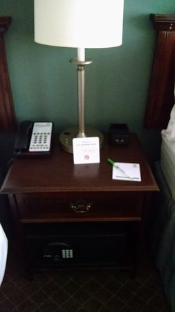Mayfield, OH: Nightstand includes a safe