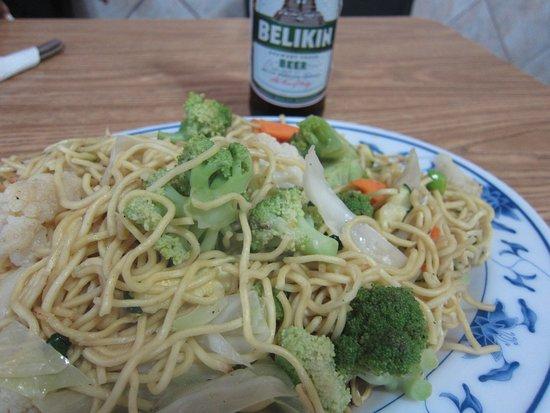 Maxim's: veggie chow mein