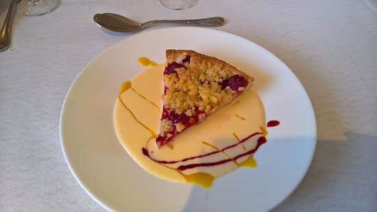 Bois d'Amont, Francia: tarte crumble fruita rouges