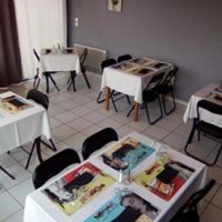 Puimichel, ฝรั่งเศส: La salle de restaurant