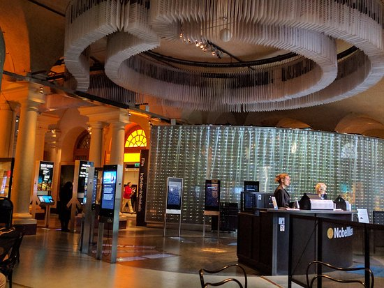 The Nobel Museum : Reception area