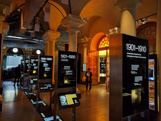 The Nobel Museum : galery with interactive info