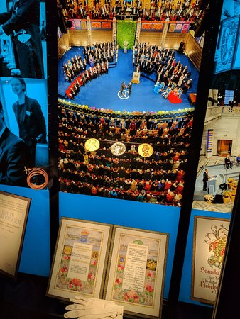 The Nobel Museum : Nobel award ceremony