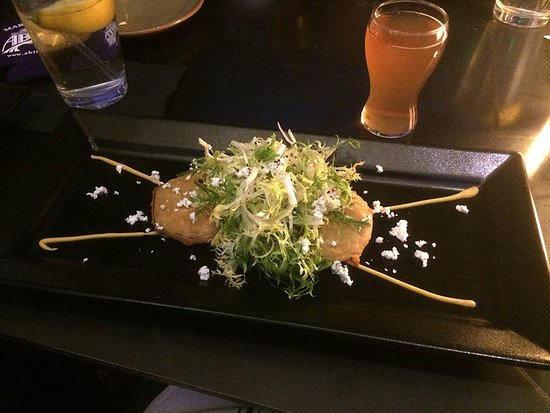 Bernalillo, Nowy Meksyk: Upscale Fried Green Tomatoes