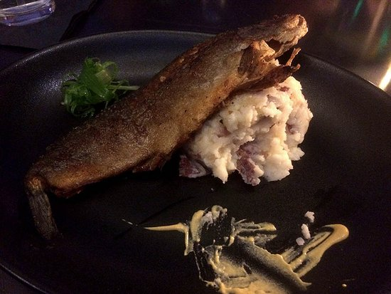 Bernalillo, Nowy Meksyk: Trout and Mash potatoes