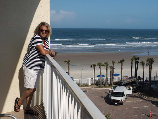 The Cove On Ormond Beach View From Balcony South Tower