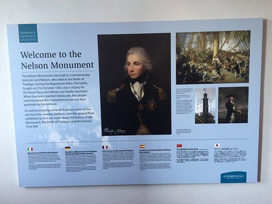 Nelson Monument Aufnahme