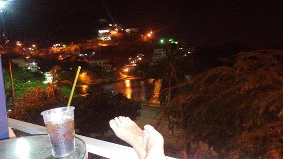 La Ballena Azul Hotel: Esta es la terraza del hotel