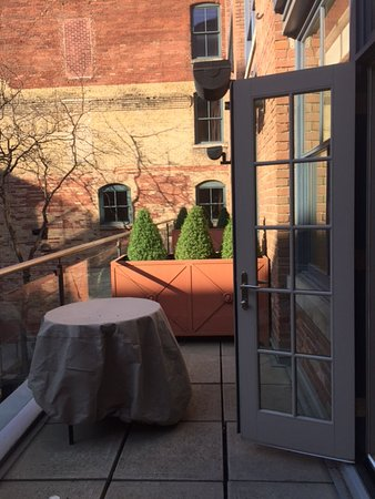 The Ivy at Verity: Each room has a private balcony