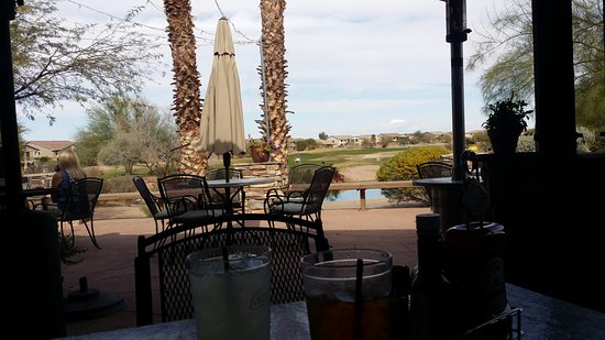 Maricopa, AZ: View from restaraunt patio