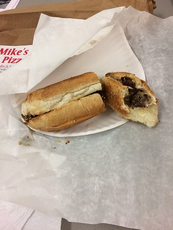 Westminster, MA: Steak tip sub, DELICIOUS