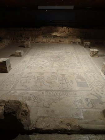 Beit She'an, Ισραήλ: the mosaic floor