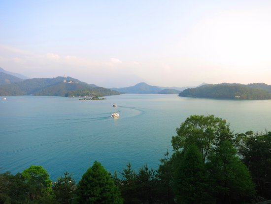 The Lalu Sun Moon Lake: スイートからの眺め
