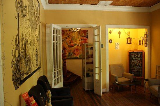 Don Santiago Hostel : common area