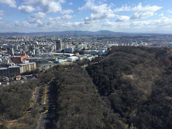 東山スカイタワー, 豊田市方面