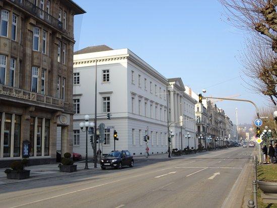 Wilhelmstraße: 最近は、往時と比べて人通りが少ない感じがします