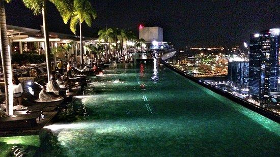 Pool Picture Of Marina Bay Sands Skypark Singapore Tripadvisor