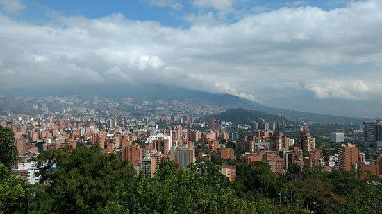 Cerro Nutibara: Vista Medellin