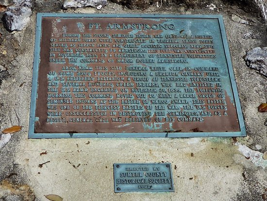 Bushnell, FL: Historic Monument