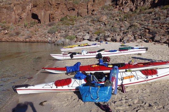 Baja Outdoor Activities (BOA): single and double kayaks