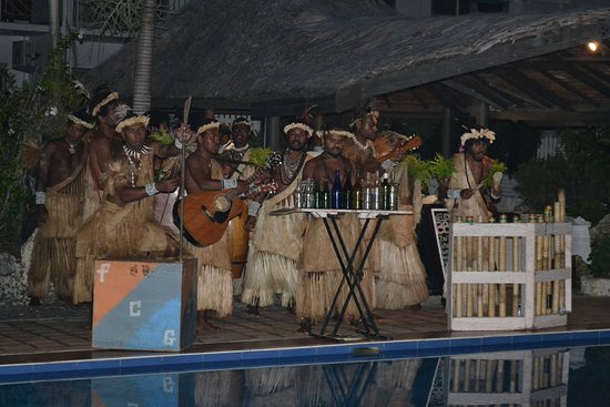 The Melanesian Port Vila: entertainment BBQ night
