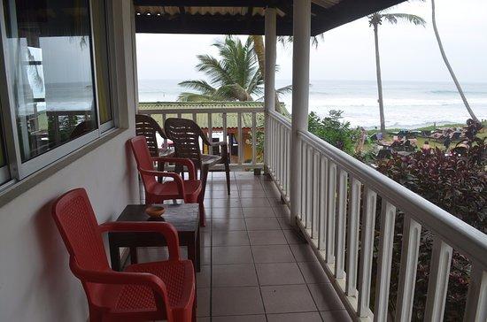 Balcony - Picture of Hotel Paradiso, Hikkaduwa - Tripadvisor